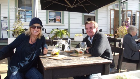 Mangonui, Yeni Zelanda: Lunching at the Little Kitchen!!