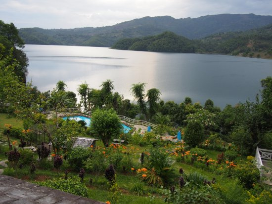 "Begnas Lake Resort: The large ""pool"" is excellent for swimming too!"