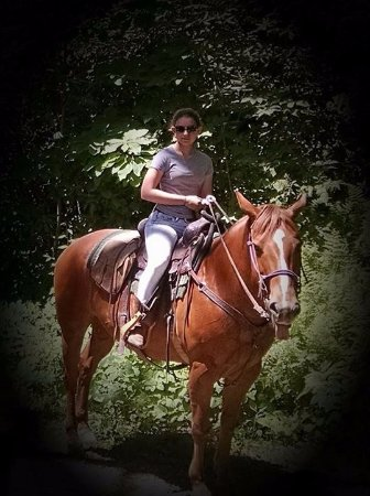 Vx3 Trail Rides: My little cowgirl.