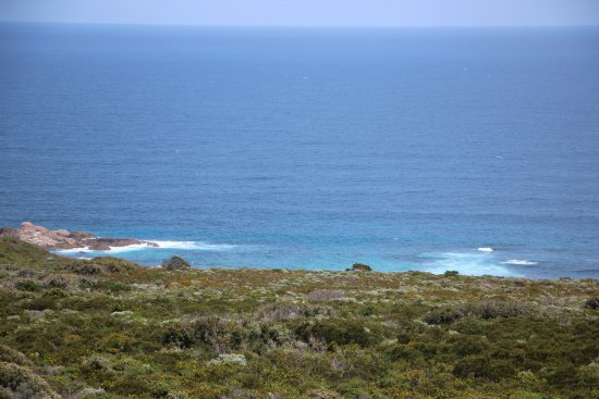 Cape Naturaliste Lighthouse: View from lighthouse