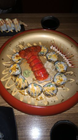 Yakuza Modern Anese And Thai Awesome Sushi Y Lobster Blue Monster