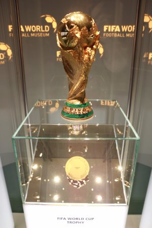 The World Cup Trophy Picture Of Fifa World Football Museum Zurich Tripadvisor