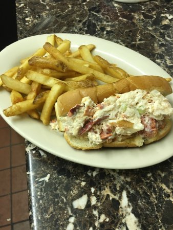 Acushnet, MA: Best lobster roll around.