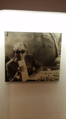 Nagatacho Kurosawa: Photo of Mr. Akira Kurorosawa, the famous film director