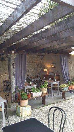 Restaurant L'Ecole: la terrasse