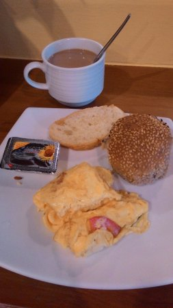 Wendy House: Salahsatu menu sarapan