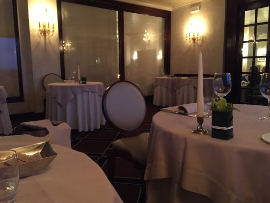 Our Romantic Dinner In A Room Off The Restaurant Picture