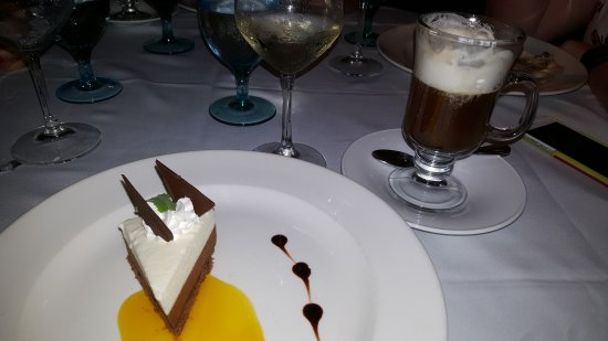 Cap Estate, Saint Lucia: French Coffee and dessert at Cariblue