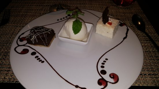 Cap Estate, เซนต์ลูเซีย: Chocolate pudding and Vanilla at Tao