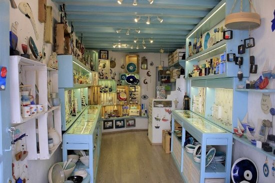 Triciclo Art Shop Mykonos