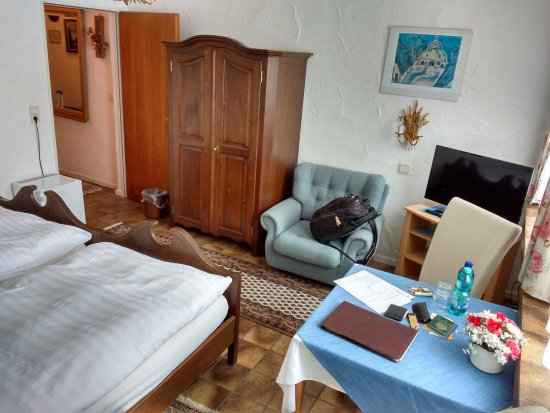Hotel garni Jacobs : Room of the main building