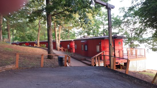 Red Caboose Rentals Picture Of Lake Oconee Greensboro
