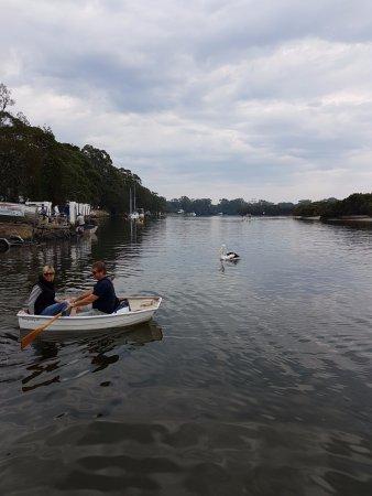 Huskisson, Australia: On the Husky Ferry