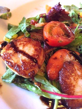 Ceann Sibeal Hotel: Succulent & sweet scallops
