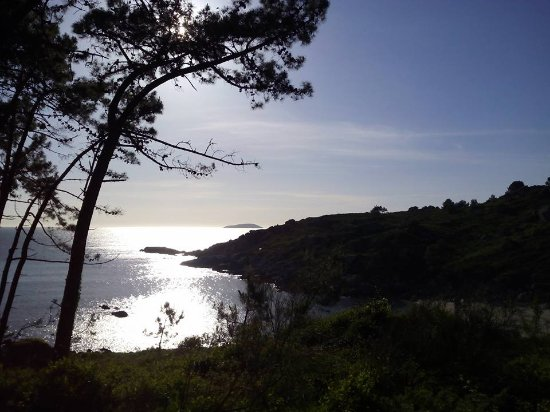Bueu, Spain: Ruta senderismo en cabo udra