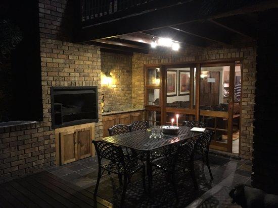 "Kruger Park Lodge: The ""Braai"" area"