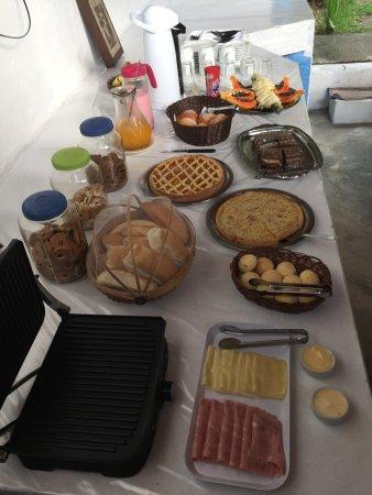 Pousada La Luna: Café da Manhã