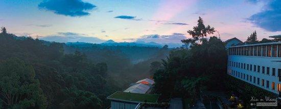 Padma Hotel Bandung: Sunrise Panoramic View of Padma Hotel