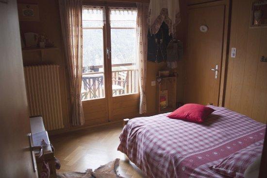 Vex, سويسرا: Chambre Heidi