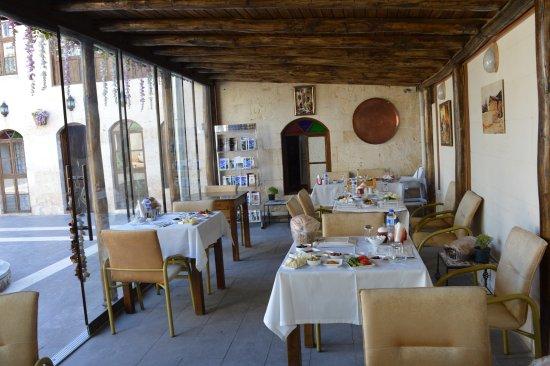 Ali Bey Konagi : kahvaltı salonu