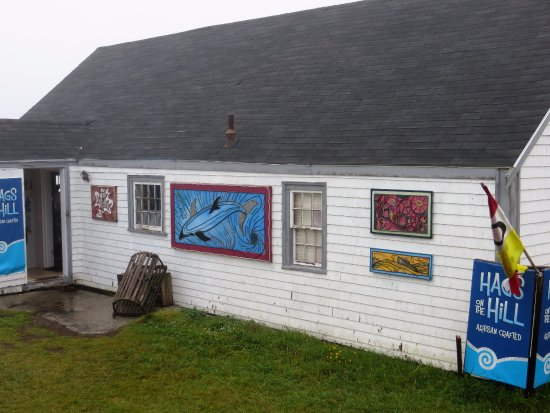 Peggy's Cove, Kanada: Shop Exterior