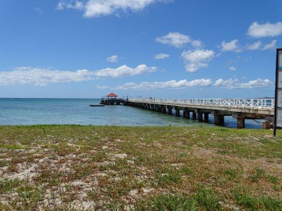 ココス アイランド リゾート , ココス島の船着き場です