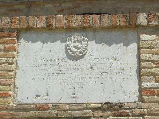 Sant'Elpidio a Mare, Itália: Lapide marmorea