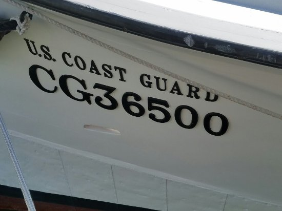 Cape Cod Scenic Tours: CG26500 Lifeboat that rescued the crew of the Pendleton. Disney released a film early this sprin