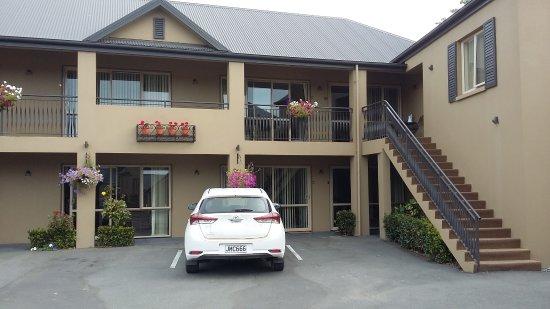 Tresori Motor Lodge: vue d'une partie de l'hôtel