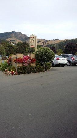 Tresori Motor Lodge: vue de l'entrée