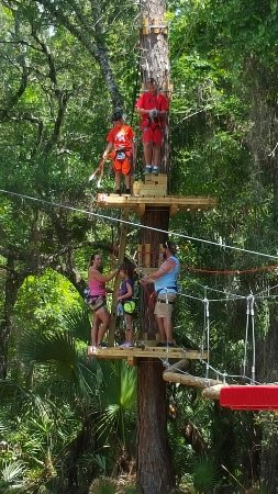 ‪Faith Haven CRC's Florida Tree Top Adventure‬