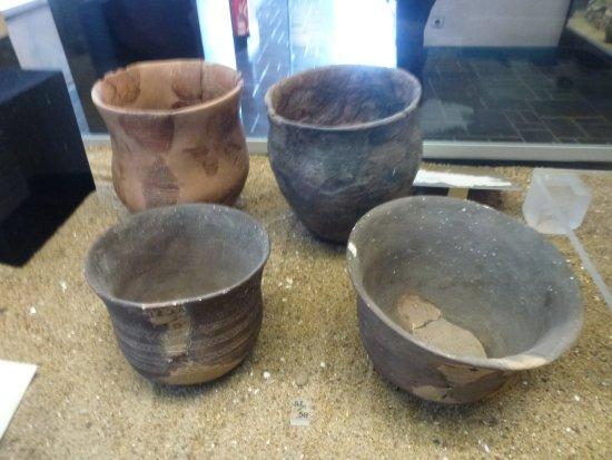 "Musée de la Préhistoire : Vasi della tradizione del ""campaniforme"""