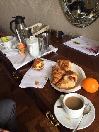 The Westin Europa & Regina, Venice: complimentary room service coffee everyday
