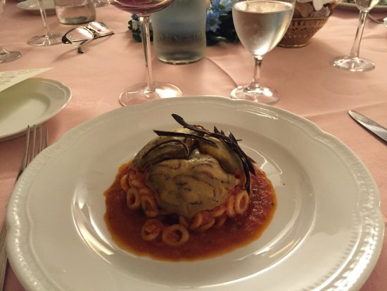 Ristorante Parco Reale : wish I could remember the name of this dish!
