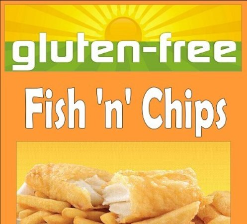 Fish chips curry yum picture of karls fish chips for Gluten free fish and chips