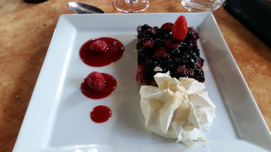 Chez Louisette : Gâteau Myrtilles