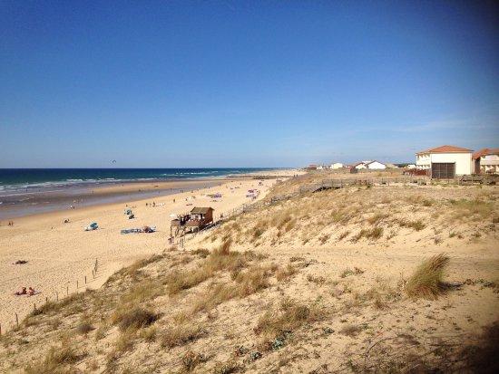 Hotel Mermoz: der spektakuläre Strand von Mimzan Plage