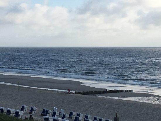 Strandhotel Monbijou: Blick vom Balkon aus