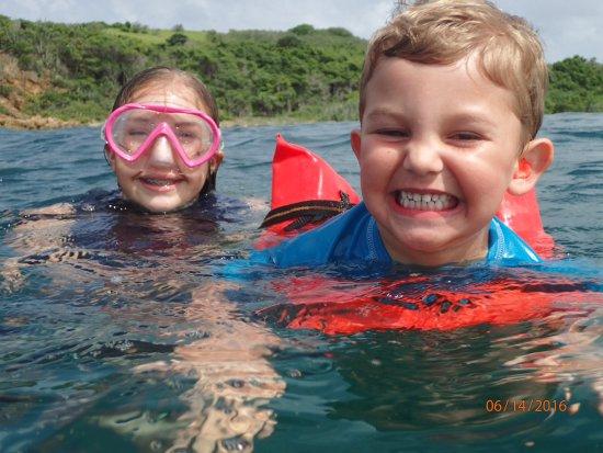 Erin Go Bragh Sailing & Snorkeling Charters: Swimming fun