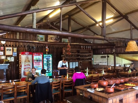 Rancho Caipira: Dining Room And Part Of The Buffet