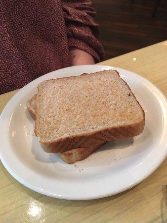 """Spynn Restaurant: """"Toast"""" aka- non-toasted bread... Sigh..."""