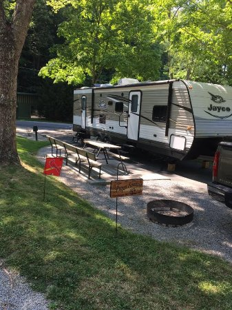 Twin Creek RV Resort: Our campground/RV site