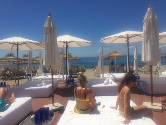 jsut a day of genuine luxury picture of plaza beach marbella