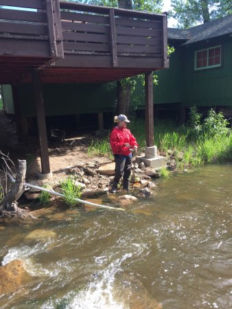 Loveland Heights Cottages: Stayed at Loveland heights June 2016 this is our 5th trip and just live these cabins by the rive