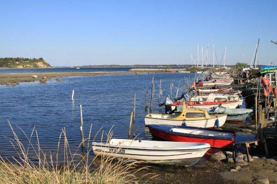 Hundested, Danmark: Udsigt mod Roskilde Fjord