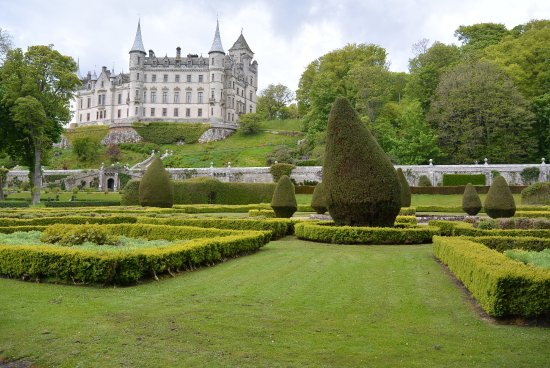 Dunrobin Castle And Gardens: Sehr Schöner Garten