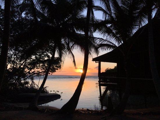 South Water Caye, Belize: Sunrise!