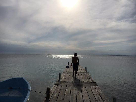 South Water Caye, Belice: Boat Dock