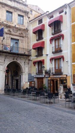 Restaurante Los Arcos : Los Arcos next to the Archway in the Plaza Mayor