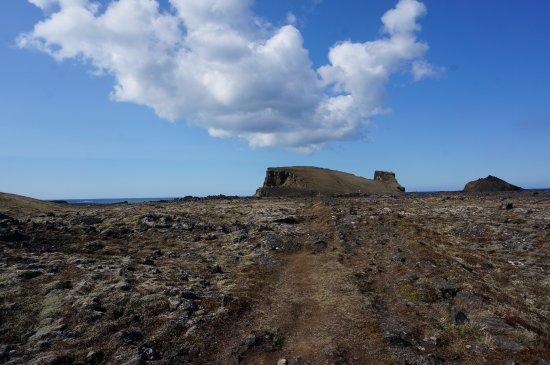 Grindavík, Islandia: Champs de lave